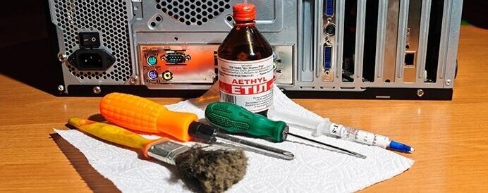 Как почистить системный блок от пыли