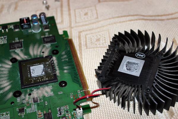 Как поменять термопасту на видеокарте