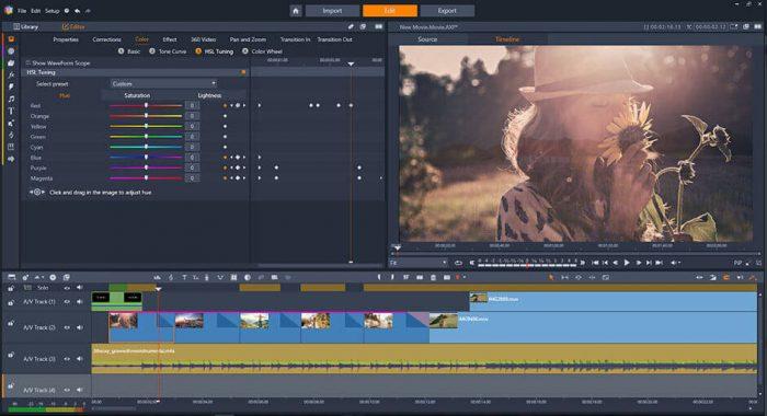 Лучшие видео редакторы для монтажа