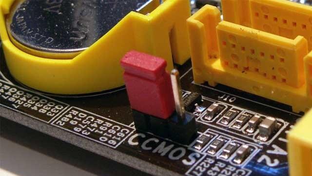Как убрать пароль BIOS с помощью джампера