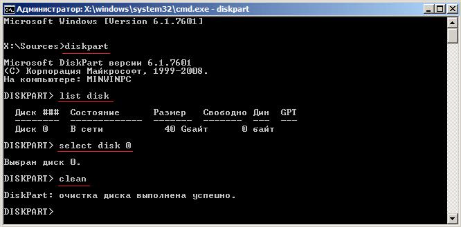 Как удалить Windows 10 и 7 полностью с компьютера