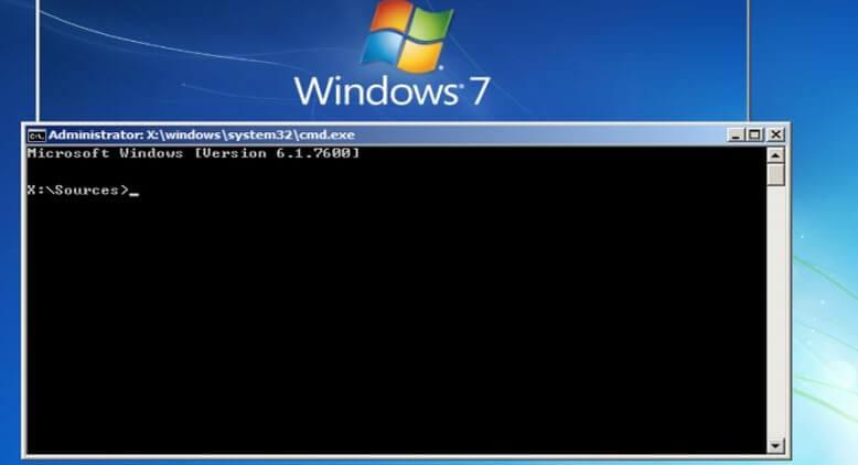 Восстановление загрузчика Windows 7 | Команды командной строки
