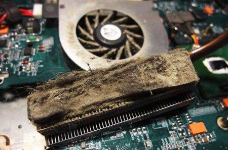 Система охлаждения ноутбука