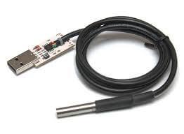 USB термометр с выносным датчиком RODOS-5B