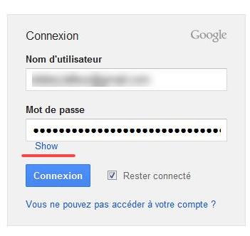 Показ пароля со звездочками в Mozilla Firefox с помощью Show/hide passwords