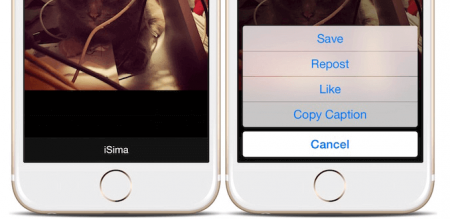 Сохраняем фото и видео из Instagram в iPhone c Instagrab