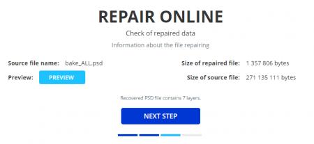 Как восстановить PSD файл в REPAIR ONLINE