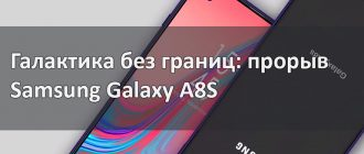 Галактика без границ: прорыв Samsung Galaxy A8S