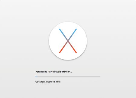 Установка Mac OS X на Windows – последний этап