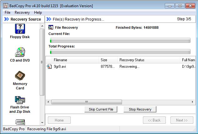 Восстановление данных с поврежденных дисков CD, DVD