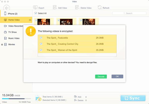 Как при помощи MacX MediaTrans передать видео iPhone