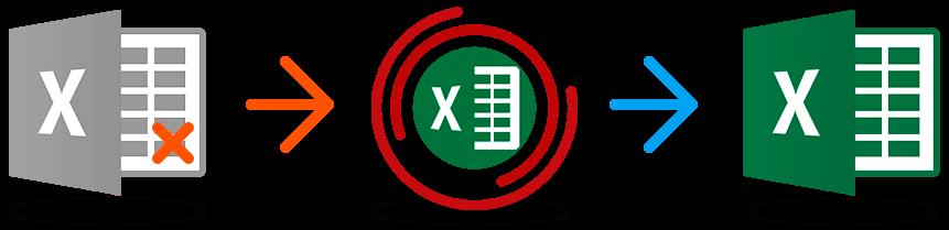 Как восстановить Excel 2019