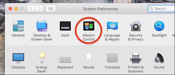 Как свернуть все окна в системе MacOS