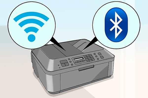 Подключение принтера через Bluetooth и Wi-Fi