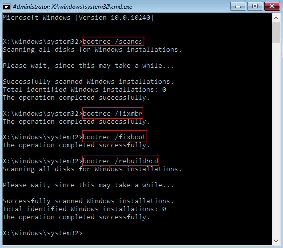 Как восстановить MBR на Windows 7 в CMD