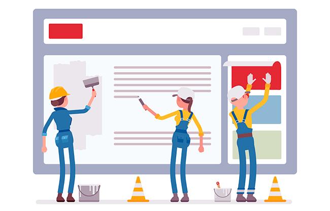 Конструкторы - лучший инструмент для создания сайтов