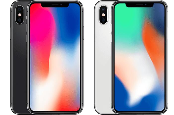 Два цвета корпуса iPhone X