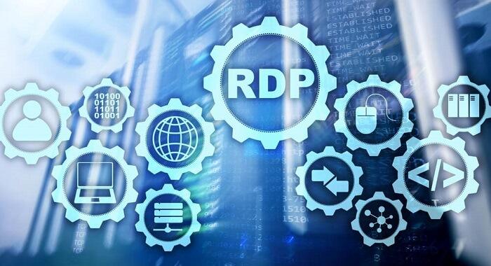 RDP – терминальный сервер, а именно служба Microsoft Remote Desktop Services
