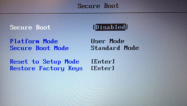 Как отключить Secure Boot в БИОС на ноутбуке и ПК
