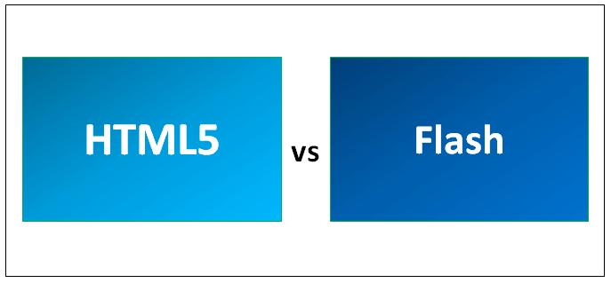 Вытеснение Flash - замена на HTML 5