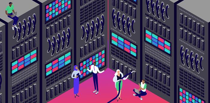 Типы хранения данных хостинга