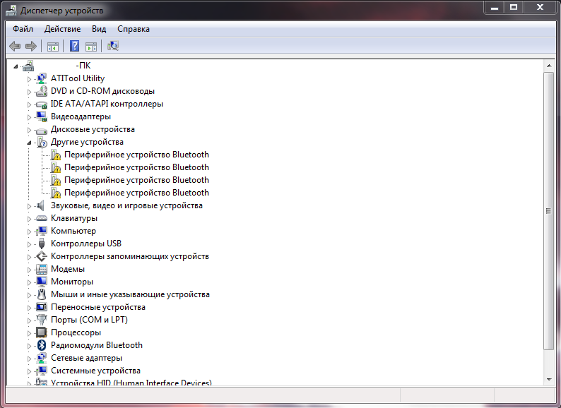 установка драйверов для windows 7