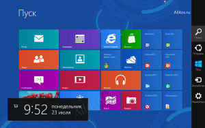 панель инструментов windows8
