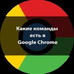 Google Chrome команды [9 полезных команд]