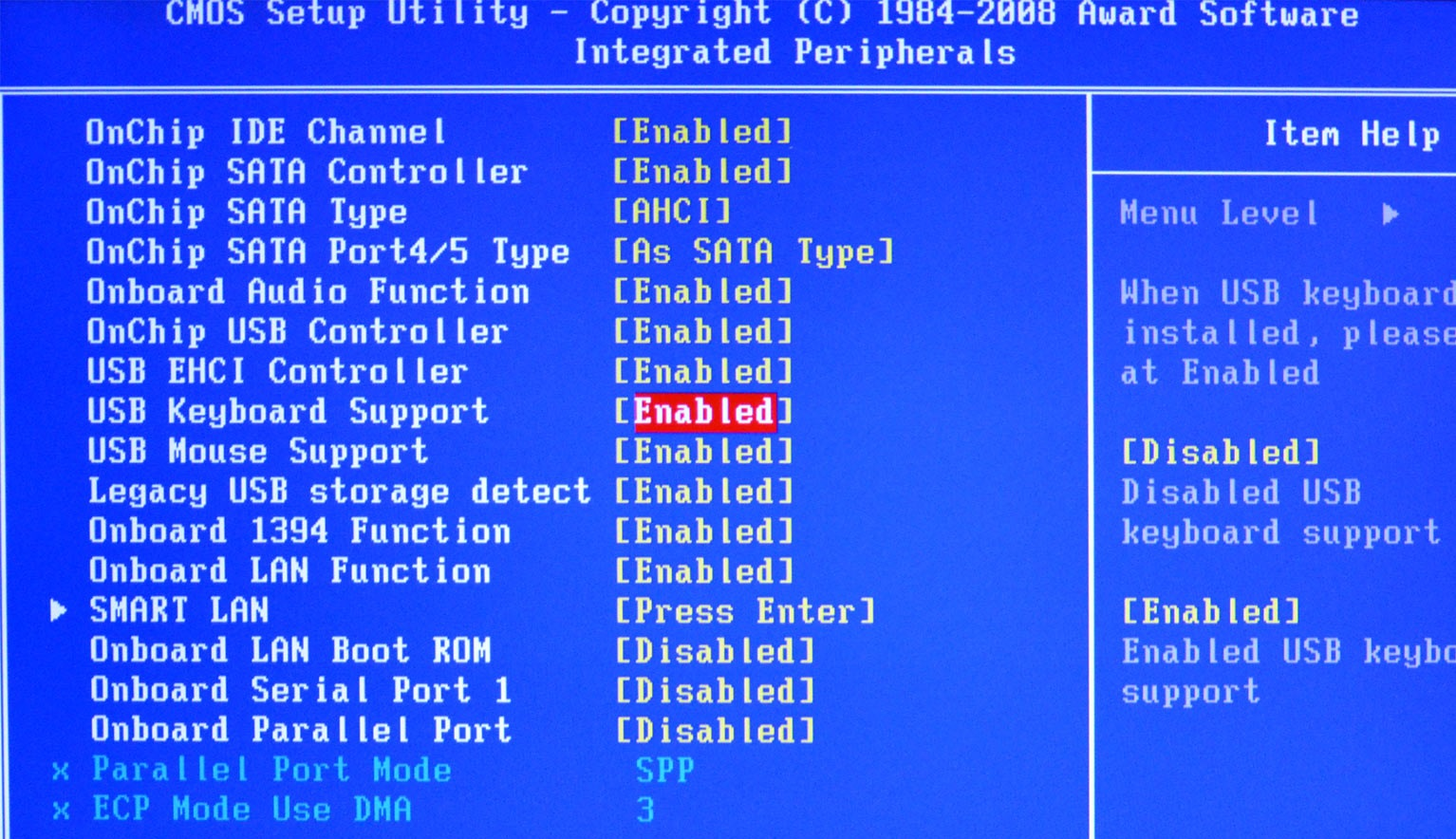 USB-Keyboard-Support