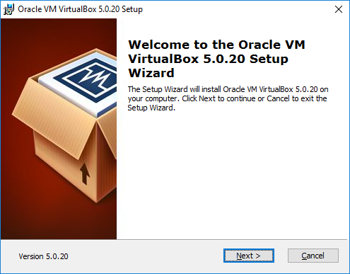 setup-virtualbox