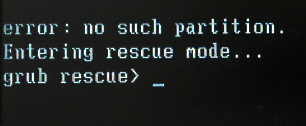 no-such-partition-grub-rescue