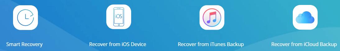 Восстановление с помощью iPhone iMyFone D-Back